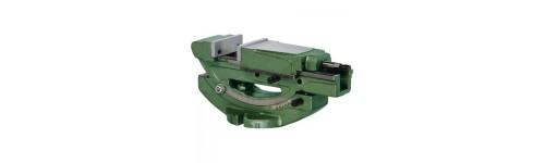Präzisionsschraubstöcke mit einstelbaren Winkel / hydraulisch